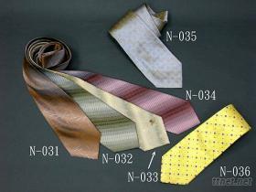 纯丝织花领带