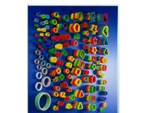安全塑膠彈簧玩具
