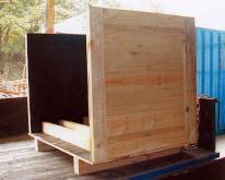 平整型木箱