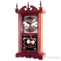 木製搖擺掛鐘