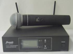 專業用UHF自動選訊無線麥克風