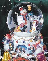 雪人內旋音樂水球