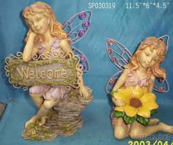Poly 天使花園擺飾