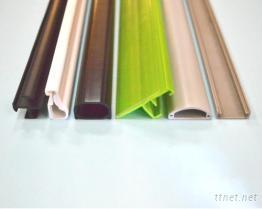 硬质PVC押出异形塑胶条