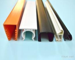 硬质PVC押出异形塑胶管