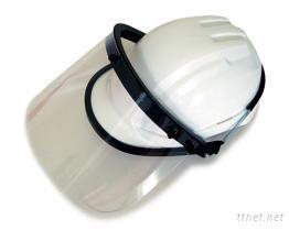 工程帽專用防護面罩
