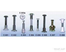 E.001公母螺絲組(帳簿釘)