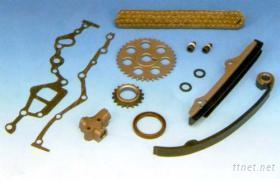 汽車內鏈條用之時規壓板/滑板/滾輪