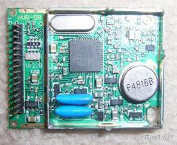 寬頻FM5.8G 無線影像聲音接收機