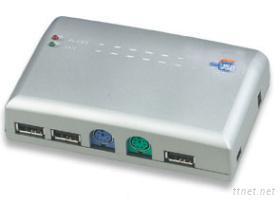 USB 2.0多功能集線器