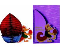 蜂巢立體卡片
