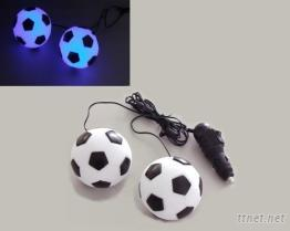 足球吊飾(車用裝飾燈)