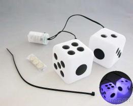 骰子吊飾(車用裝飾燈)