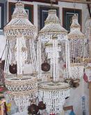 天然貝殼吊籃