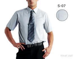 襯衫-男(素色) 吸濕排汗布