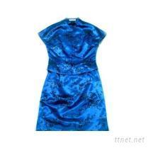 改良式短袖旗袍