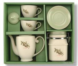 茶具組(橄欖花)