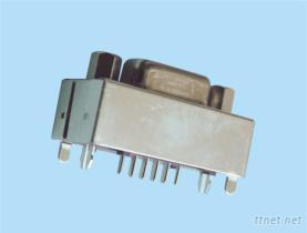 直立式D-SUB連接器