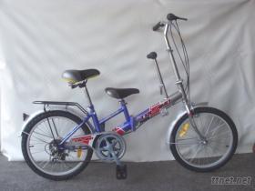 20吋6速親子腳踏車