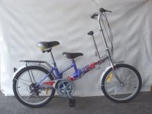 20吋6速亲子脚踏车
