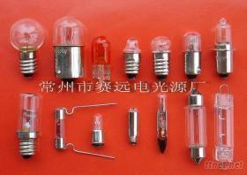 氙氣燈泡,殺菌燈泡,微型燈泡,電珠,米泡,螢光燈管