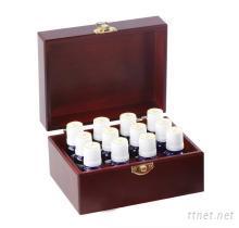 10ml精油 十二罐装收纳木盒