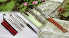 環保摺疊筷