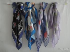 高級絲巾.緞綢.圍巾