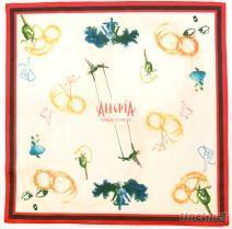 太陽馬戲團彩色印花頭巾
