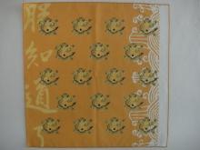 棉彩色手帕