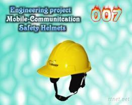 工程通訊安全帽(黃)