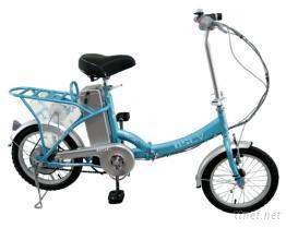 BSC 珍珠16吋折疊電動自行車,型號BK-163-1H