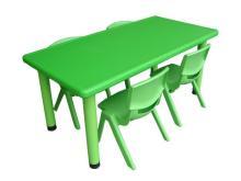 彩色環保長方桌
