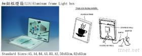 超薄燈箱/細鋁框燈箱