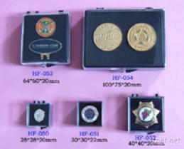 徽章及飾品用透明塑膠盒