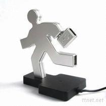 人型, USB, 集線器