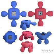 錶型USB集線器