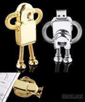 機器人造型USB隨身碟