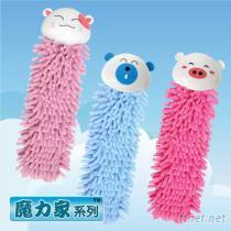可愛動物造型擦手巾