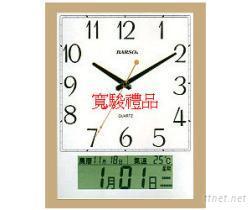 11726402 LCD萬年曆溫度掛鐘