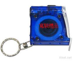 50730453 LED燈1M捲尺鑰匙圈
