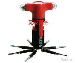 66131051 多功能手电筒工具组