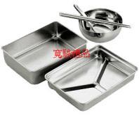 69123602 方型三格餐盒碗筷匙組