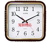 11701604 時尚方形跳秒掛鐘