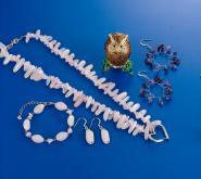 半宝石项链