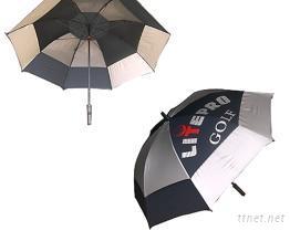 高爾夫防雷雙層雨傘  ( U-01 )