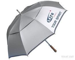 高爾夫自動強風雙層傘  ( U-02 )