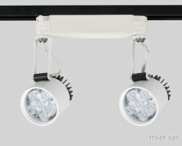 LED雙燈式軌道式投射燈, LED軌道燈