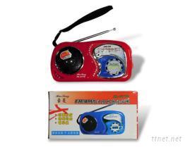 FM/AM 雙波段時鐘收音機