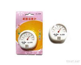 桌磁溫度計